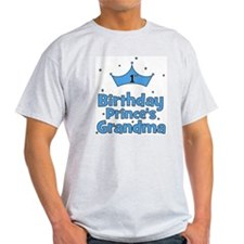 1st Birthday Prince's Grandma T-Shirt