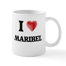 I Love Maribel Mugs