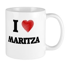 I Love Maritza Mugs