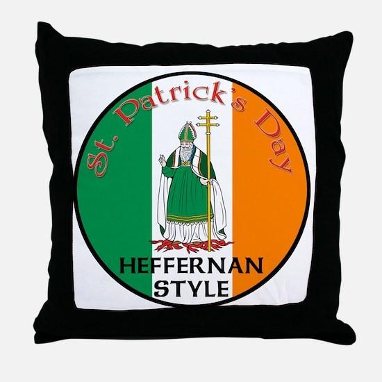Heffernan, St. Patrick's Day Throw Pillow