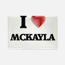 I Love Mckayla Magnets