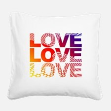 Love-45 Square Canvas Pillow