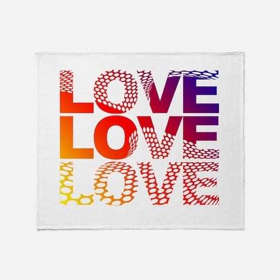 Love-45 Throw Blanket