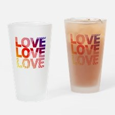 Love-45 Drinking Glass