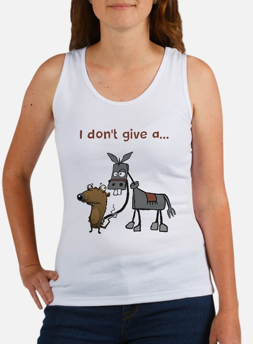 I don't give a... Tank Top