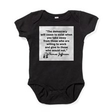 Unique Thomas jefferson Baby Bodysuit