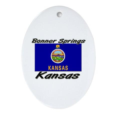 Bonner Springs Kansas Oval Ornament