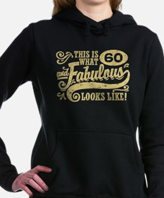 60th Birthday Women's Hooded Sweatshirt