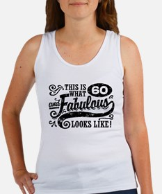 60th Birthday Women's Tank Top