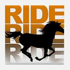 Horse ride Tile Coaster