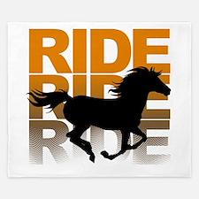 Horse ride King Duvet