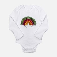 Cute Real food Long Sleeve Infant Bodysuit
