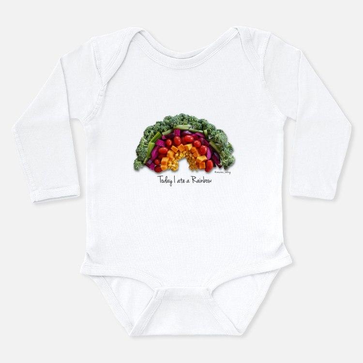 Cute Nutrition Long Sleeve Infant Bodysuit