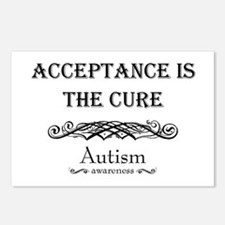 Autism ~ Acceptance is the cure Postcards (Package