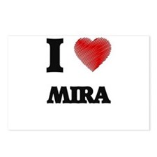 I Love Mira Postcards (Package of 8)