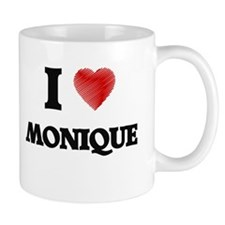 I Love Monique Mugs