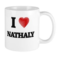 I Love Nathaly Mugs