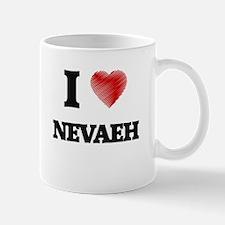 I Love Nevaeh Mugs