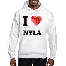I Love Nyla Hoodie Sweatshirt