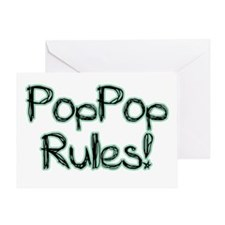 PopPop Rules! Greeting Card