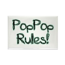 PopPop Rules! Rectangle Magnet