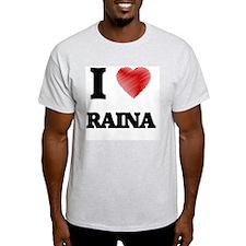 I Love Raina T-Shirt