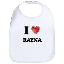 I Love Rayna Bib