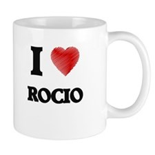 I Love Rocio Mugs