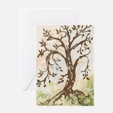 Cute Contemplation Greeting Card