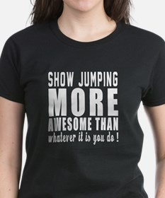 Show Jumping More Awesome Des Tee