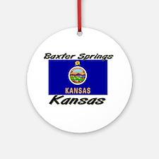 Baxter Springs Kansas Ornament (Round)
