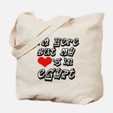 Heart In Egypt Tote Bag