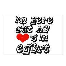 Heart In Egypt Postcards (Package of 8)