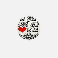 Heart In Egypt Mini Button