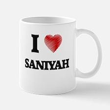 I Love Saniyah Mugs