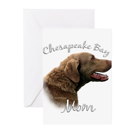 Chessie Mom2 Greeting Cards (Pk of 20)