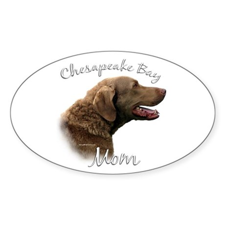 Chessie Mom2 Oval Sticker