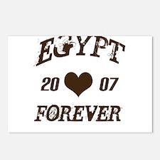 Egypt 2007 Forver Postcards (Package of 8)