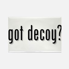 got decoy? Rectangle Magnet