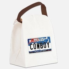 Texas - Cowboy Canvas Lunch Bag