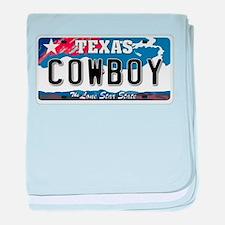 Texas - Cowboy baby blanket