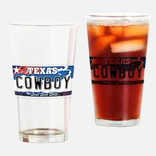 Texas - Cowboy Drinking Glass