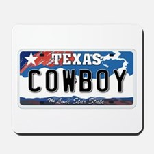 Texas - Cowboy Mousepad
