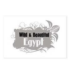 Wild and Beautiful Egypt Postcards (Package of 8)