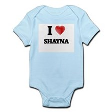I Love Shayna Body Suit