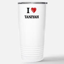 I Love Taniyah Travel Mug
