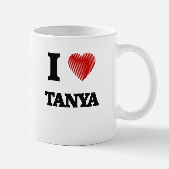 I Love Tanya Mugs