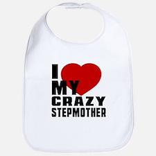 I Love Stepmother Bib
