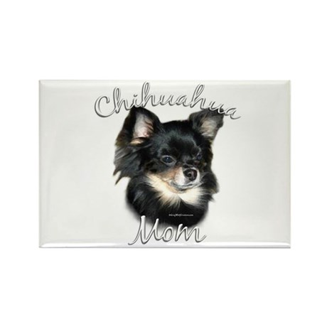 Chihuahua Mom2 Rectangle Magnet