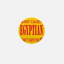 I'm hot cause i'm Egyptian Mini Button